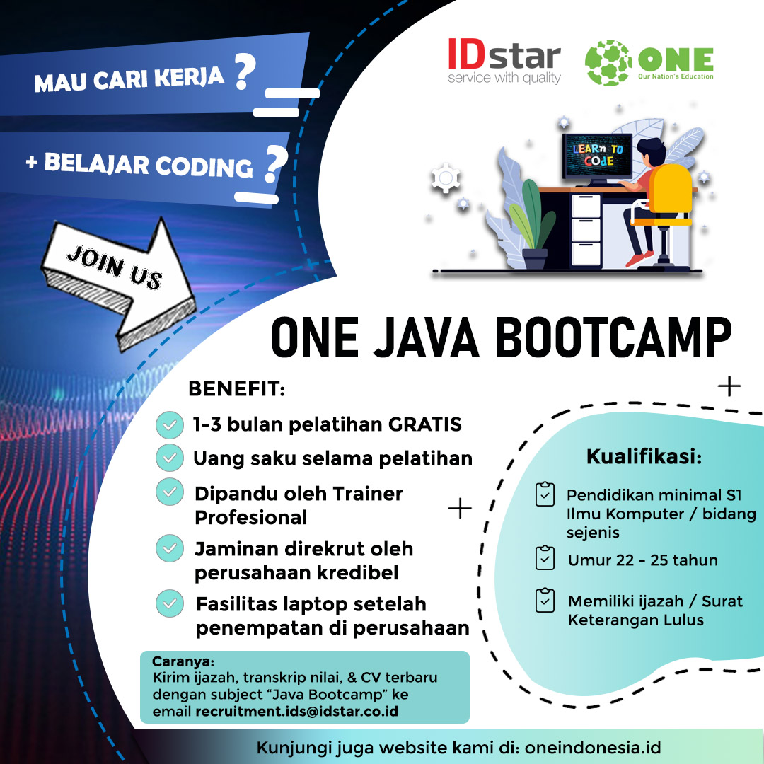 Flyer ONE Java Bootcamp
